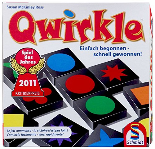 Preisvergleich Produktbild Schmidt Spiele 49311 - Qwirkle, Legespiel