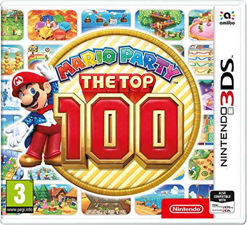 Mario Party Top 100 3DS UK