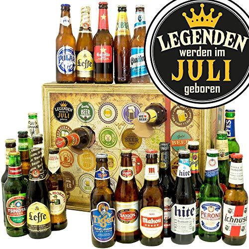 Legenden werden im Juli geboren | Bieradventskalender | Biere aus aller Welt