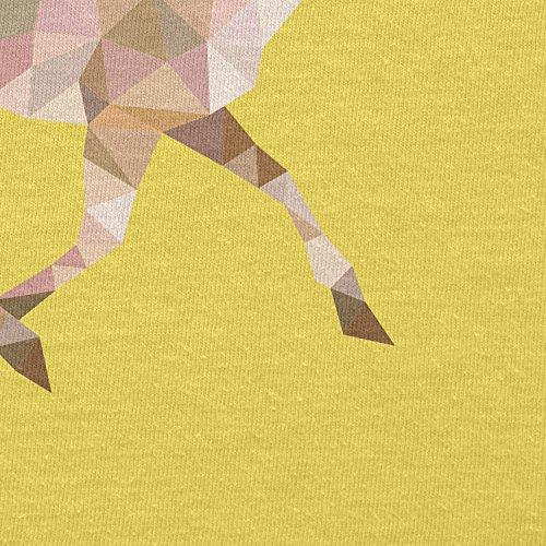 TEXLAB - Poly Deer - Herren T-Shirt Gelb