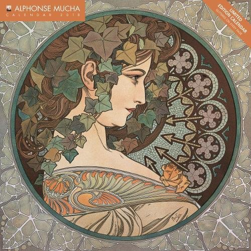 Alphonse Mucha limited edition wall cale...