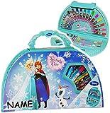 alles-meine.de GmbH Stifte-Koffer -  Disney die Eiskönigin - Frozen  - Incl. Name - 51 tlg. Set ..