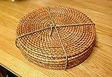 Rattan-Java-Salon-de-jardin-en-rotin-Table-ronde-Lot-de-6-sets-de-table-rd6