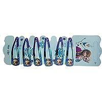 Frozen 6 Girls Hair Clips Accessories sleepies barettes pins