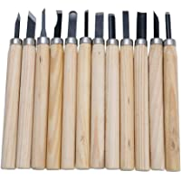Runilex Carving Tool Set of 12pcs Wood Carving Knives & Accessories