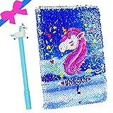 Unicorn Journal Stylo à encre gel Lot, Licorne ordinateur portable mignon Jotter avec stylo Cadeau d'anniversaire Back to School Licorne cadeaux pour filles enfants pour tous les âges