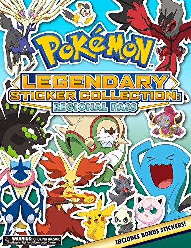 Pokemon Legendary Sticker Collection: Regional Pass
