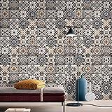 JY ART Wand-Aufkleber Küche Deko Badezimmer-Gestaltung - Küchen-Fliesen überkleben - Dekorative Bad-Gestaltung - Fliesen-Aufkleber 20cmx5m HB010, 20cm*5m