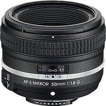 Nikon AF-S NIKKOR 50mm f/1.8G SE - Objetivo (SLR, 7/6, 5 cm, Nikon FX, DX, 0.15x, Negro)