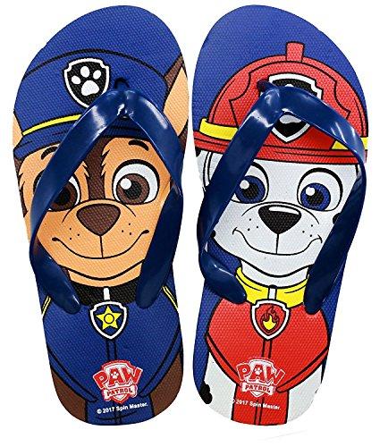 Nickelodeon Paw Patrol Kinder Flip Flops / Hausschuhe Blau