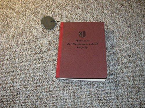 Sparkassenbuch Nr. 756875 mit Kontrollmarke