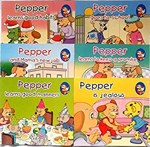 Pepper Series Set 5 ( Set of Six Books) (Pepper Storybooks)