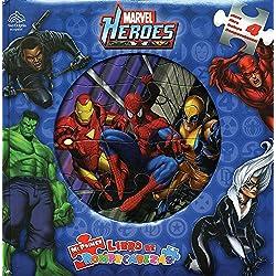 Marvel Heroes: Mi Primer Libro De Rompecabezas / My Firs Puzzle Book