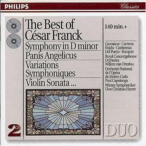 Cesar Franck Symphonie - Symphony In D Minor;Panis Angelicus;Variations Symphoniques;Violin Sonata...(Best