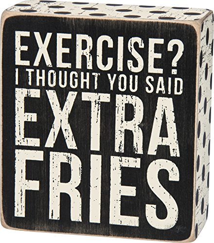 Primitives by Kathy Blechschild, Kalorien schreien Box Sign Exercise?