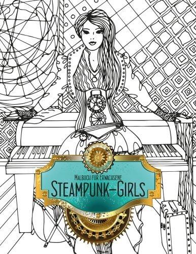 Malbuch für Erwachsene - Steampunk-Girls 1