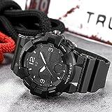 SPORTWATCHES Schöne Uhren, Dual-Display-Sport-Multifunktions-Silikon-Elektronik-Armbanduhr für Männer