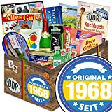Original seit 1968   DDR Geschenkbox   DDR Spezialitäten-Box mit Halloren, Wikana und Rotstern und vielem mehr