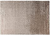 ESPRIT Cosy Glamour Moderner Markenteppich, Polypropylen/Polyester, Sand, 170 x 120 x 4 cm