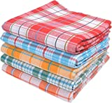 Tks Cotton Bath Towels (5 Pieces) - Mult...