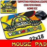 Mouse Pad 46Valentino Rossi Moto Maus personalisierbar mit Foto, Logo
