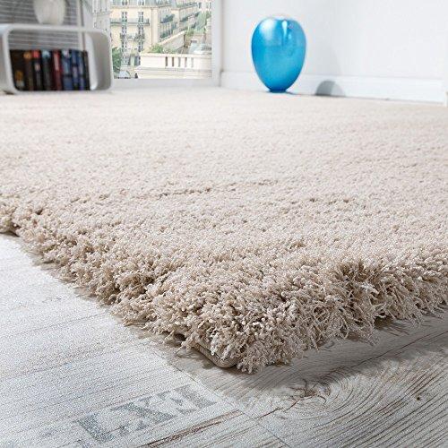 tapis-salon-micro-polyester-shaggy-elegant-resistant-haut-poil-long-beige-clair-dimension80x150-cm
