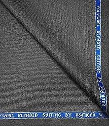 Raymond 45 % Merino Wool Grey Unstitched Suit Fabric