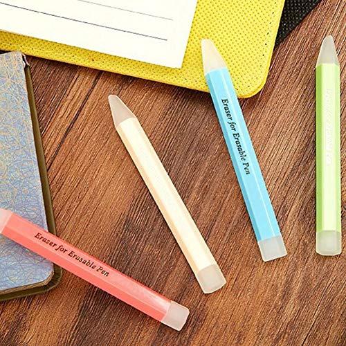 Eventualx Radiergummi Hochwertigem Silikon Weich Korrekturtools Nicht Leicht Zu Beschädigen Langlebig Mehrere Stile Radiergummis Für Löschbare Stifte Und Löschbare Tinten Geeignet