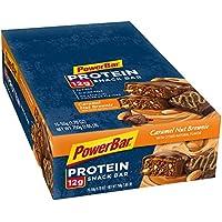 PowerBar - brownie d'écrou de caramel de snack-bar de protéine - 15 Barres