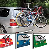 Fifth Gear Universal Rear Mounted 3 Cycle Carrier Car Rack