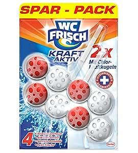 WC Frisch Kraft Aktiv Chlor-Kraftkugeln Sparpack, 1er Pack (1 x 2 Stück)