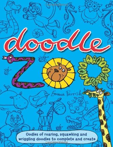 Doodle Zoo (Doodle Activity) por Emma Parrish