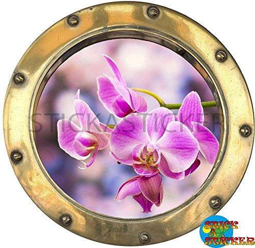 sticker-trompe-l-oeil-hublot-orchidee-de-couleur-30x30cm-ref-y019