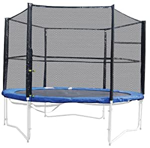 Vortigern Safety Net enclosure for 8ft Trampolines with 6 legs (Poles and Netting)