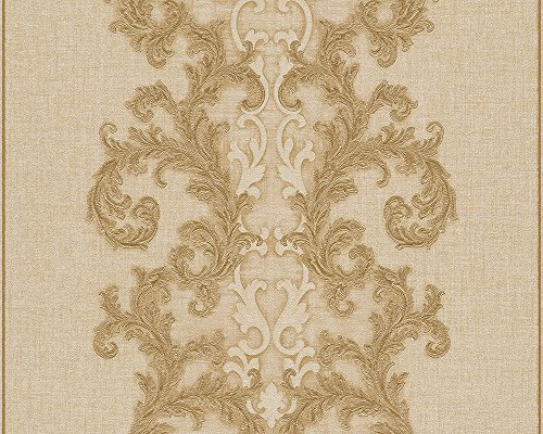 Price comparison product image A.S. Creation 962322 fleece wallpaper,  Versace 2 collection,  beige
