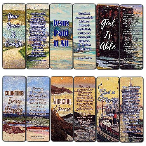 Dio Grace religiosa Bibbia citazioni incoraggiare uomini e donne (Kjv) Bookmarks (pezzi), God Grace KJV (30-Pack), (30-Pack)