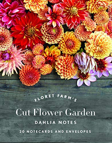 Floret Farm's Cut Flower Garden Dahlia Notes: 20 Notecards & Envelopes -