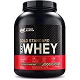 Optimum Nutrition 100% Whey Gold Standard, Chocolate & Hazelnut, 5lbs