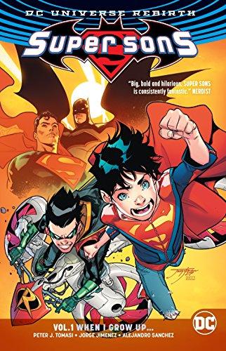 Super Sons Vol. 1 (Rebirth) (Dc Rebirth) por Peter J. Tomasi