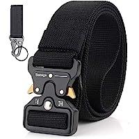 Bansga Cintura Militare Tattica per Uomo Heavy Duty Cintura Militare con Cintura Cintura in Nylon Resistente per Caccia…