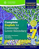 Complete English for Cambridge Lower Secondary 7: Cambridge Checkpoint and beyond (Cie Checkpoint)