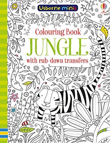 Colouring Book Jungle with Rub Down Transfers (Usborne Mini Books) por Sam Smith