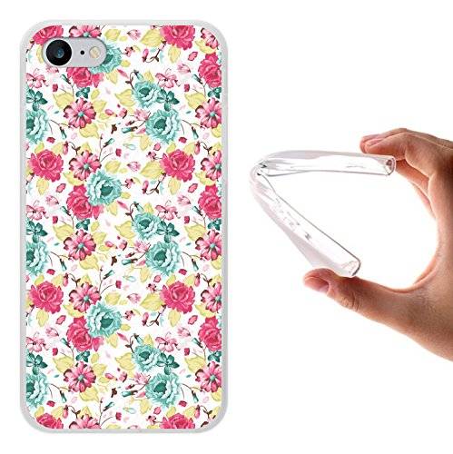 WoowCase Hülle Case für [ iPhone 7 ] Handy Cover Schutzhülle Schuhe Kamera Brille Stern Housse Gel iPhone 7 Transparent D0039