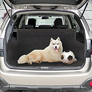 JTDEAL Car Boot Liner Pet Dog Car Boot Cover Waterproof Heavy Duty Car Boot Mat Universal for SUV, Vans & Trucks Black Rear Seat Car Boot Protector Cover (155 * 104 * 33 cm)