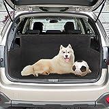 Hundedecke Auto, Jtdeal Wasserdicht Kofferraumschutz, Universal-Kofferraumdecke, Rutschfest Autoschondecke für SUV, 155*104*33cm, Schwarz