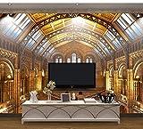 Ytdzsw Wien Musik 3D Tapete Wandbilder 3D Wand Fototapete Für Wohnzimmer Sofa Hintergrund 3D Wandbild Tapetenwandbild-450X300Cm