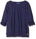 TOM TAILOR KIDS Mädchen Bluse printed blouse/602, Gr. 164, Blau (blue dephts 6668)