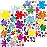 'pared pegatinas Flores Diseño 1–114Pegatina en 3hojas DIN A4–pared adhesivo decorativo//Pegatinas Pared adhesivos decorativos para//dormitorio o como regalo
