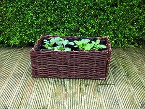 fleximas 40x 40x 50cm Medium Willow Bepflanzen Bag–Natural
