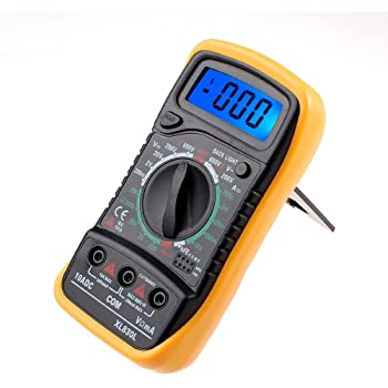 Godagoda Multimeter Digital AC DC Voltage Current Resistance Tester Multi Tester Voltmeter Ammeter Ohmmeter for Electrical Appliance Vehicle and Power Line Inspection Repair
